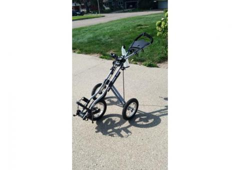 Golf push cart - adult
