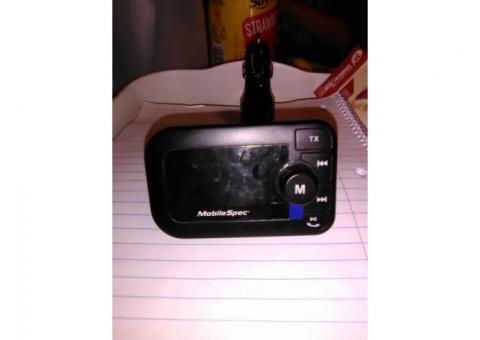 MobileSpec Bluetooth FM Transmitter