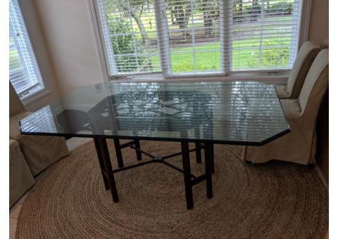 Nice Woodard and Lorthrop class dining table